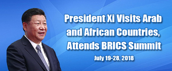 President Xi Visits Arab and African Countries, Attends BRICS Summit