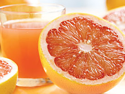 Grapefruit Juice blog header photo